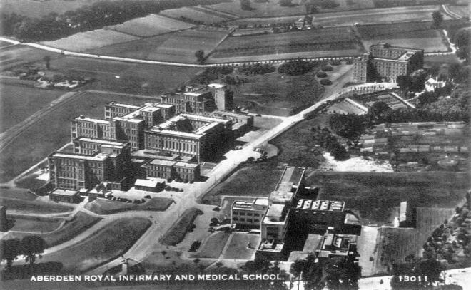 Aberdeen Royal Infirmary in 1938
